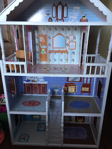 Barbie Doll House & Furniture  - with correct email address