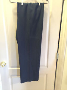 Brand New 'Addition Elle' Plus Size 26W Petite Black Dress Pants