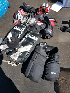 Adult full set goalie gear