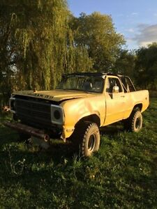 Ramcharger mud truck