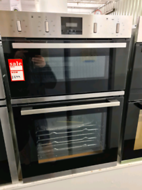 Brand New Neff U1GCC0AN0B 59.4cm Built In Electric Double Oven