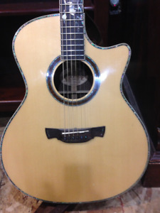 Crafter CB Rose Plus Acoustic/Electric Guitar