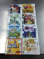 Gros lot jeux Nintendo 3DS SEALED BRAND NEW