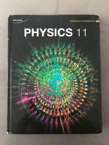 Nelson Physics 11 Textbook for Sale