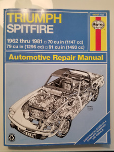 Triumph Spitfire Workshop Manual