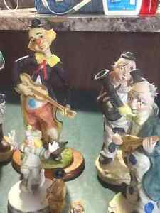 Clown collection 30 pieces or so some vintage cake toppers London Ontario image 2