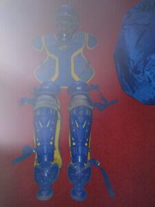Catcher's Gear complete chest protector helmet shin pads