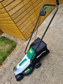 Qualcast 20 V battery powered lawn mower. Makita