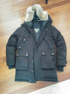 NOBIS WINTER JACKET - COYOTE FUR + WHITE DUCK DOWN FEATHER