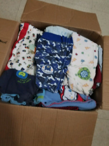 Box of baby boy clothes!