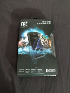 Brand new never used galaxy s8 Life Proof case