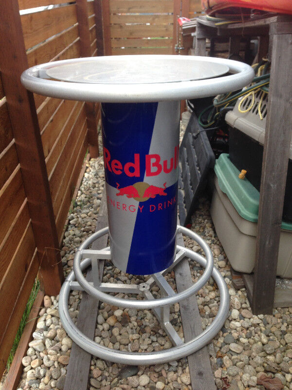 Red bull bar table other tables nelson kijiji description one of a kind red bull bar table watchthetrailerfo