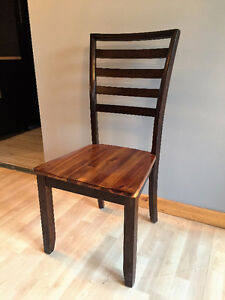 4 Wood Dining Chairs