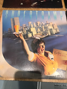2 VINTAGE VINYL ALBUMS SUPERTRAMP & BILLY JOEL