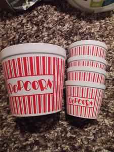 Cermic Popcorn set