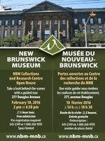New Brunswick Museum Collections and Research Centre Open House