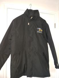 Speedway Eastbourne Eagles Black long Jacket