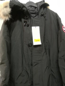 Canada Goose Chateau black, brand new good deal