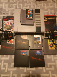 Selling NES Bundle with 8 games