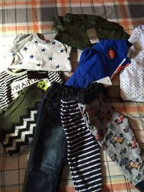 New boys clothes 12-18 months