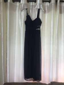 Navy Blue Mother of the Bride / Groom Dress - Size 8 Petite