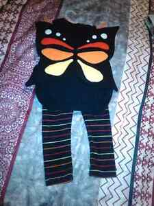 Old navy butterfly halloween 2 pc outfit (new)