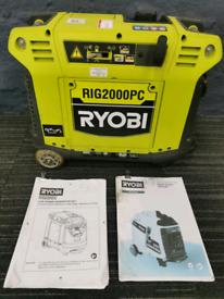 Ryobi 2000 digital inverter generator S/Land