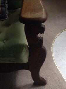 Antique Morris Recliner Chair Stratford Kitchener Area image 6