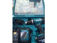 Makita DHP453RFTK 18v LITHIUM COMBI Hammer Drill + Screwdriver Bit Set