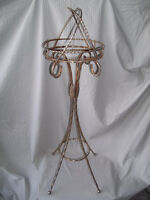 Brass Metal Ashtray Stand