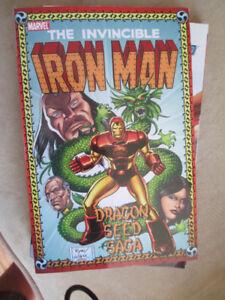 Iron Man: The Dragon Seed Saga TPB