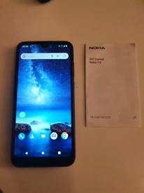Nokia 1.3 - 16GB - Charcoal (Unlocked) (Dual SIM) MINT CONDITION!