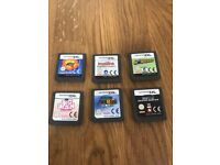 Assorted Nintendo DS games in perfect working condition