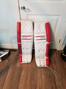 Vaughn goalie gear pads 36+1 inches