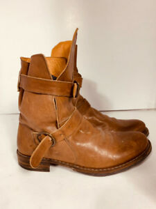 *FLORENTINI + BAKER - leather boots - woman  size 10or 40*
