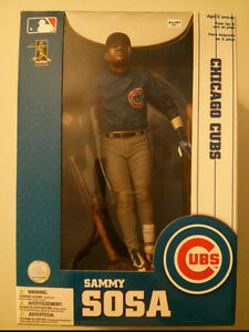 "Mcfarlane MLB Series 1 Sammy Sosa Chicago Cubs  12"" inch figure"