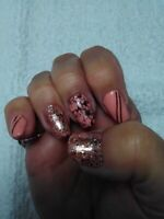 ** Special on Gel Nails - $40**