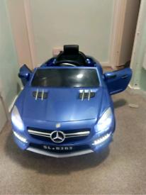 Kids battery powered car.
