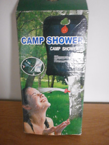 Camping douche portative - Portable shower