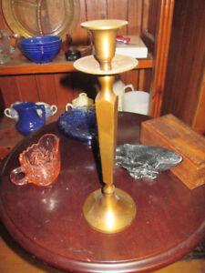 Chandellier antique en brass