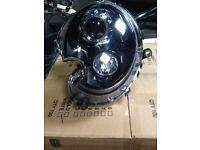 MINI R56 R57 R55 BLACK XENON NEW NOT GENUINE PAIR OF LIGHTS