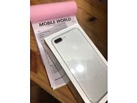 IPhone 7 plus 128gb Silver brandnew unlocked 12 month apple waranty