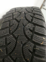 Winter tires 205-55-16 with Alloy wheels