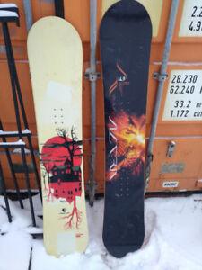 163cm LTD Altra snowboard