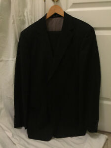 Hugo Boss Black Suit Size 42R