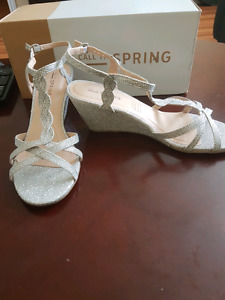Spring Silver Wedges