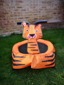 Toddler Tiger Trampoline