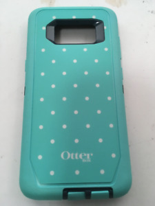 OtterBox Defender Screenless Case for Galaxy S8, Mint Dot