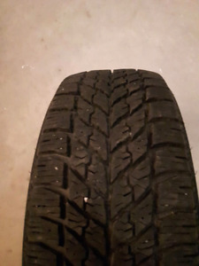Goodyear ultragrip 225/55/17