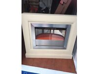 Free standing fire place